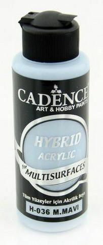 Cadence Hybrid Acrylic -akryylimaali, sävy Mild Blue, 120 ml