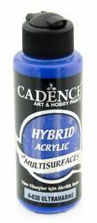 Cadence Hybrid Acrylic -akryylimaali, sävy Ultramarine, 120 ml