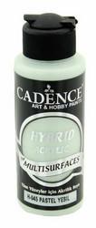 Cadence Hybrid Acrylic -akryylimaali, sävy Pastel Green, 120 ml