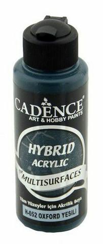 Cadence Hybrid Acrylic -akryylimaali, sävy Oxford Green, 120 ml
