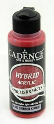 Cadence Hybrid Acrylic -akryylimaali, sävy Crimson Red, 120 ml