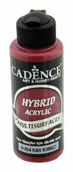 Cadence Hybrid Acrylic -akryylimaali, sävy Blood Red, 120 ml