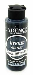 Cadence Hybrid Acrylic -akryylimaali, sävy Black, 120 ml