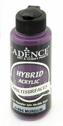 Cadence Hybrid Acrylic -akryylimaali, sävy Plum, 120 ml