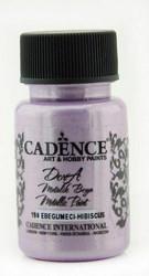 Cadence Dora Metallic -akryylimaali, sävy Hibiscus, 50 ml