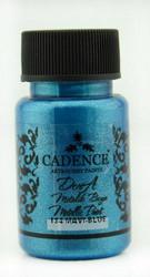 Cadence Dora Metallic -akryylimaali, sävy Dora Blue, 50 ml