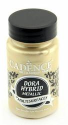 Cadence Dora Hybrid Metallic -akryylimaali, sävy Champagne, 90 ml