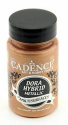 Cadence Dora Hybrid Metallic -akryylimaali, sävy Bronze, 90 ml