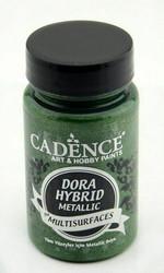 Cadence Dora Hybrid Metallic -akryylimaali, sävy Green 90 ml