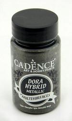 Cadence Dora Hybrid Metallic -akryylimaali, sävy Anthracite, 90 ml