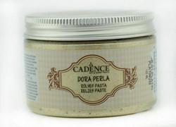 Cadence Dora Perla Metallic Relief -pasta, sävy Platinum, 150 ml