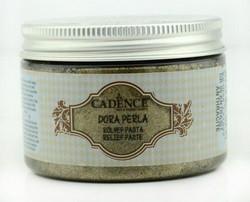 Cadence Dora Perla Metallic Relief -pasta, sävy Anthracite, 150 ml