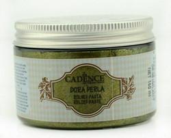 Cadence Dora Perla Metallic Relief -pasta, sävy Malahit, 150 ml
