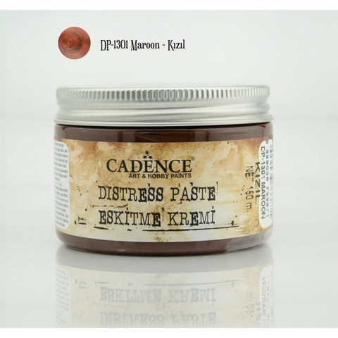 Cadence Distress -pasta, sävy Maroon, 150 ml