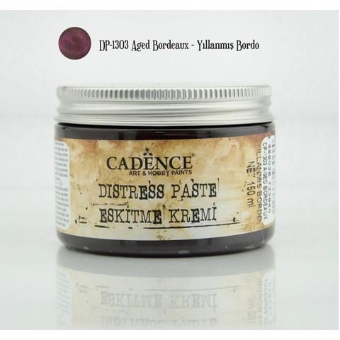 Cadence Distress -pasta, sävy Aged Bordeaux 150 ml