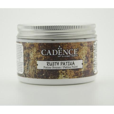 Cadence Rusty Patina -pasta, sävy White, 150 ml