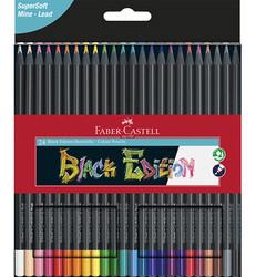Faber-Castell värikynät Black Edition, 24 kpl