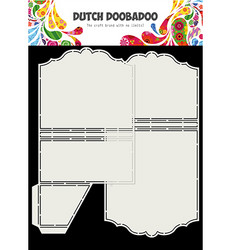 Dutch Doobadoo Cart Art Mini Album with Pocket -sapluunat