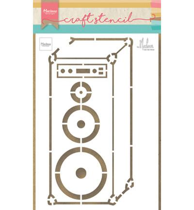 Marianne Design sapluuna Music Speaker By Marleen
