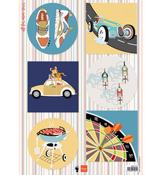 Marianne Design korttikuvat All For Men, Darts