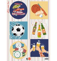 Marianne Design korttikuvat All For Men, Beer