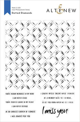 Altenew Dotted Diamonds -leimasinsetti
