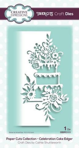 Creative Expressions stanssi Celebration Cake Edger
