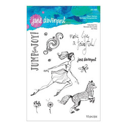 Jane Davenport leimasinsetti Fairytale Fox