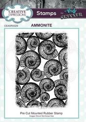 Creative Expressions Andy Skinner Ammonite -leimasin