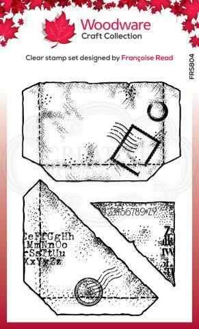 Woodware leimasinsetti Paper Pockets