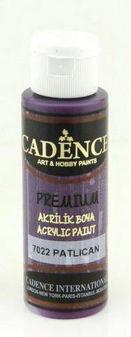 Cadence Premium Acrylic -akryylimaali, sävy Aubergine, 70 ml