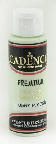 Cadence Premium Acrylic -akryylimaali, sävy Pastel Green, 70 ml