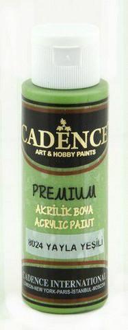 Cadence Premium Acrylic -akryylimaali, sävy Plateau Green, 70 ml