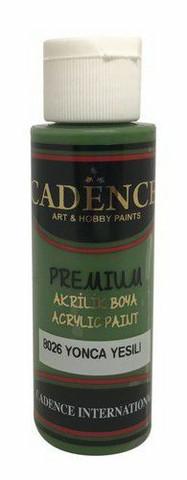 Cadence Premium Acrylic -akryylimaali, sävy Clover Green, 70 ml
