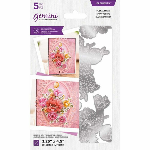 Crafter's Companion Floral Decoupage stanssisetti Floral Spray