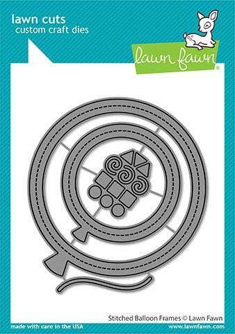 Lawn Fawn stanssisetti Stitched Balloon Frames