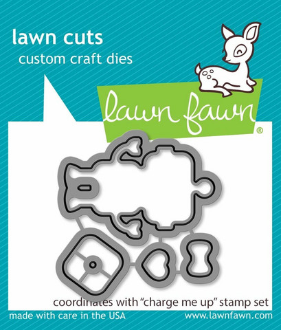 Lawn Fawn Charge Me Up -stanssisetti