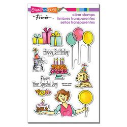 Stampendous leimasinsetti Birthday Gift