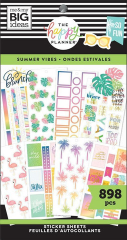 Mambi Happy Planner Value -tarrapakkaus Summer Vibes