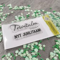Leimasinsetti Tervetuloa (korttipaja.fi)