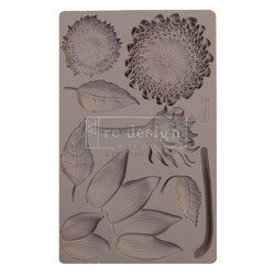 Prima Re-Design Decor Mould -muotti Forest Treasures