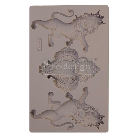 Prima Re-Design Decor Mould -muotti Royal Emblem