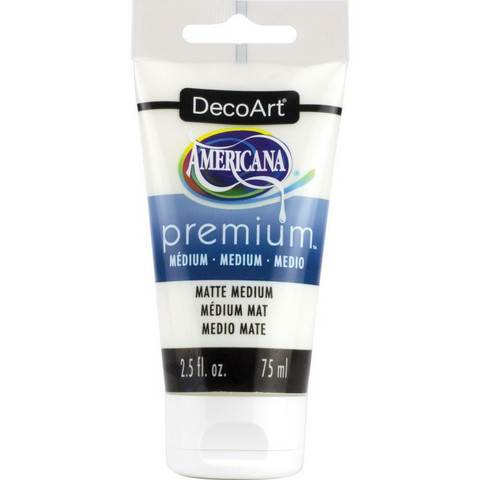 DecoArt Americana Premium Matte Medium, 75 ml