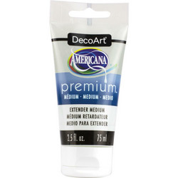 DecoArt Americana Premium Extender Medium, 75 ml