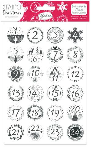 Aladine Classic Advent Calendar foam -leimasinsetti