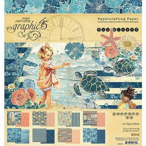 Graphic 45 -paperipakkaus Sun Kissed, 8