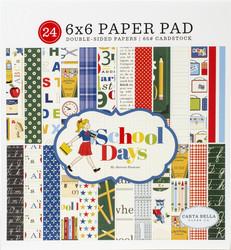 Carta Bella School Days -paperipakkaus
