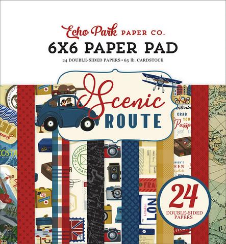 Echo Park Scenic Route -paperipakkaus