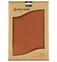 Studio Light Fake Leather -arkit, Light Brown