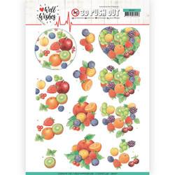 Jeanine's Art Well Wished 3D-kuvat Fruits